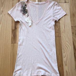 J. Crew Embellished V-neck T-shirt